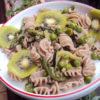 Pasta di cascagne primavera (Pasta de castañas primavera)