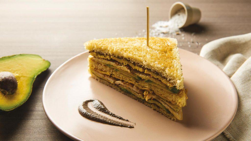 Sandwich con trufa